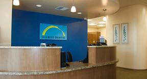 Front Desk of Sunrise Dental of Auburn in Auburn, WA, 98001